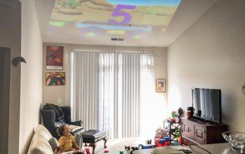 Un vidéo projecteur dans votre salon